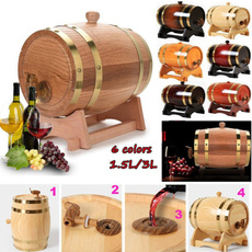 Storage & Organization, winebottle, dinnertabledecal, Wooden