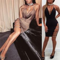 Plus Size, package hip dress, Dress, Slim Fit