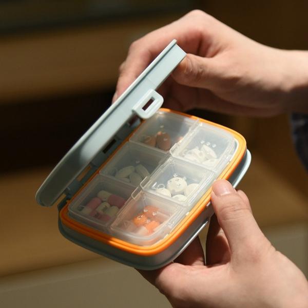 Box, Mini, pillbox, pillholder