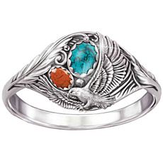 Turquoise, vintage ring, Wedding, Fashion