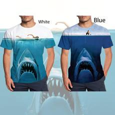 Summer, Shark, Fashion, Shirt