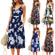 printeddres, fashion dress, Dress, Women's Fashion