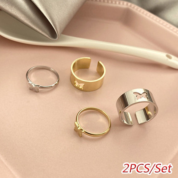 butterfly, adjustablering, butterflyring, Jewelry
