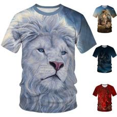 Hip Hop, Summer, femaletshirt, Tiger