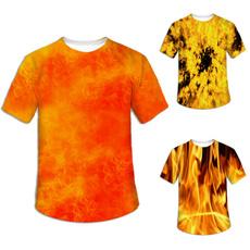 Mens T Shirt, trendyelement, Summer, 3dprinting