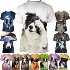 Summer, collie, Fashion, Shirt