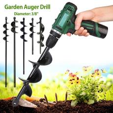 planting, Head, augerdrillbit, handdrill
