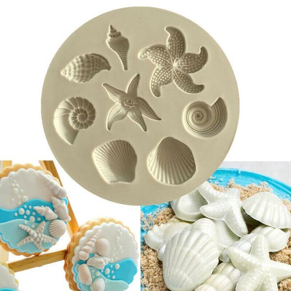 Baking, icing, starfish, Silicone