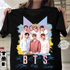 K-Pop, Tees & T-Shirts, Cotton Shirt, Shirt