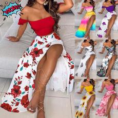 Summer, dressesforwomen, Vestidos, Elegant