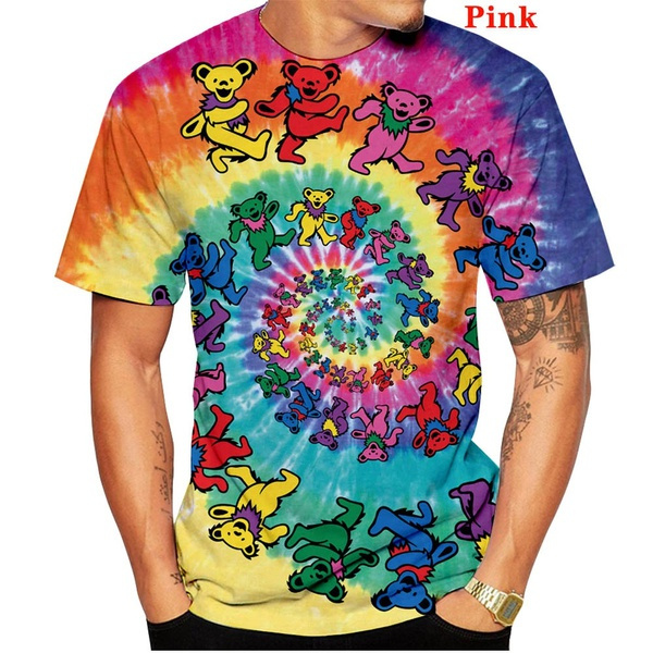 Mens T Shirt, Fashion, Shirt, Colorful