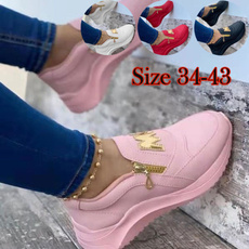 non-slip, Sneakers, platformheel, shoes for womens