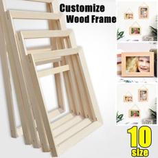 woodenframe, DIAMOND, Jewelry, frameforcanvaspainting