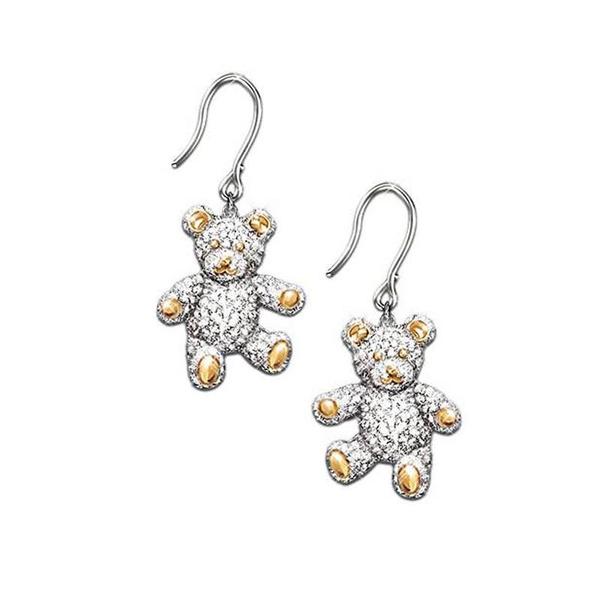 Sterling, cute, DIAMOND, teddybearjewelry