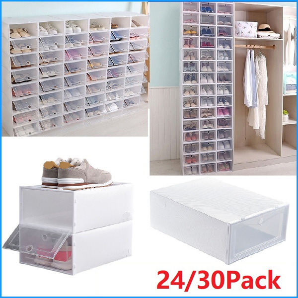 Box, shoesstoragebin, foldableshoebox, stackableshoerack