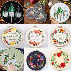 embroideryneedleworkcrossstitch, Flowers, diyembroiderypaintingmaking, diyneedlecrossstitch