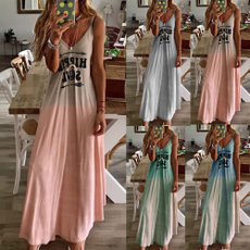 Fashion, hippie, long dress, Dress