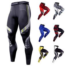 Camouflage Leggings, Training, trousers, compressionlegging