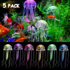 aquariumdecor, Tank, fishtankjellyfish, siliconejellyfish