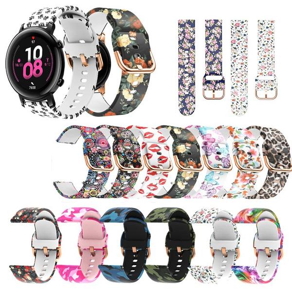 22mmwatchbandprinted, Bracelet, galaxyactive2band, Jewelry