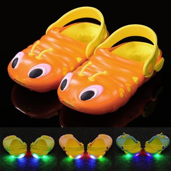 Boy, Sandals, led, lights