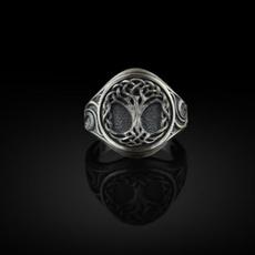 Steel, amuletring, Stainless Steel, Jewelry