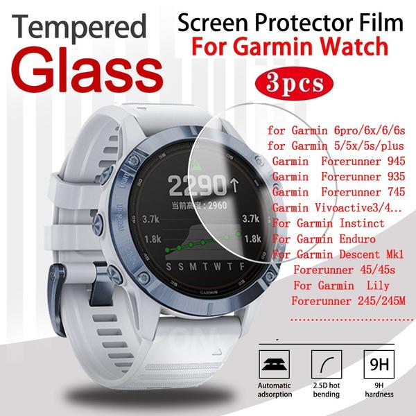 garminfenix6, garminvenu, garminforerunner45screenprotector, Glass
