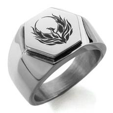 Steel, Stainless Steel, Jewelry, Phoenix