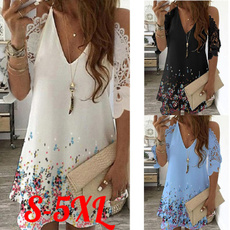 womens dresses, Floral, Lace, Sleeve