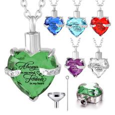 birthstonependantnecklace, ashesjewelry, urnnecklaceforashessilver, Jewelry