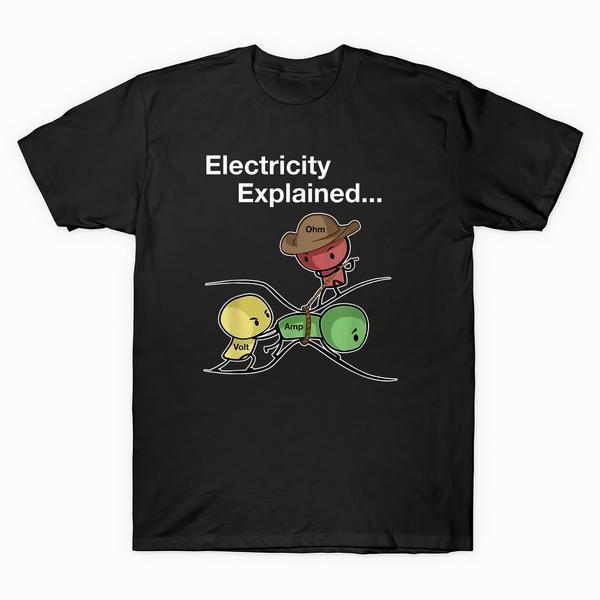 ohm, explained, Shirt, Funny