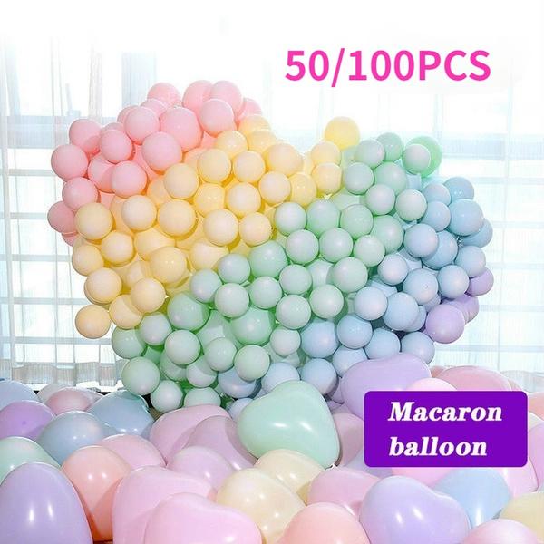 macaroncolorballoon, latex, Food, Pastels