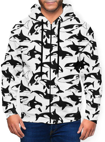 whale, Fashion, crewnecksweatshirtmen, sweatersformen