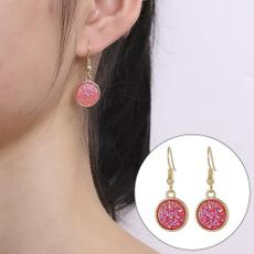 Dangle Earring, Jewerly, vintage earrings, resinearring