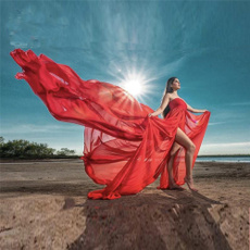 gowns, Encaje, chiffon, Vestidos