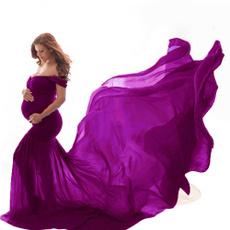 Shoulder, gowns, pregnant, Photo