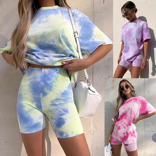 homewear, Shorts, roundnecktshirt, Summer