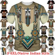 Fashion, Shirt, noveltytshirt, Ethnic Style
