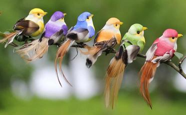Plastic, simulationbird, Toy, Garden