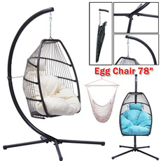 Steel, ropechair, hangingchair, chairwithcushion