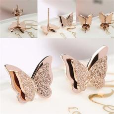 butterfly, cute, Bling, Jewelry