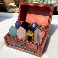 Box, quartz, Minerals, obelisk