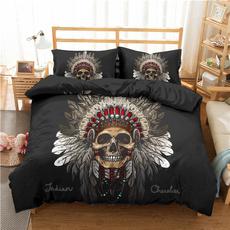 King, twinfullqueenkingsize, Polyester, skull