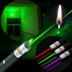 Flashlight, Blues, Зелений, Laser