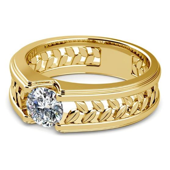 DIAMOND, gold, Engagement Ring, Yellow