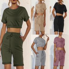 Summer, Fashion, Spring, short sleeves
