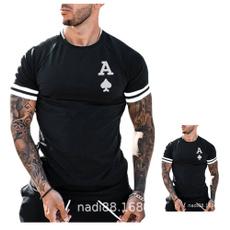 Mens T Shirt, Poker, Printed T Shirts, Summer