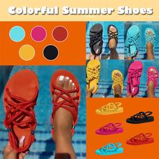 bohemia, Summer, woman fashion, Sandals