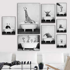 cow, Wall Art, homepainting, canvaspainting