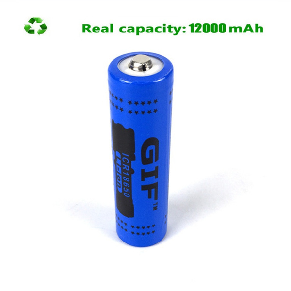 Flashlight, Rechargeable, 18650, Battery